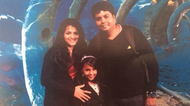นาง Prabha Arun Kumar และครอบครัว