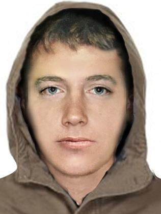 ภาพคอมพิวเตอร์กราฟฟิกของคนร้ายข่มขืนสาววัย 16 ปี