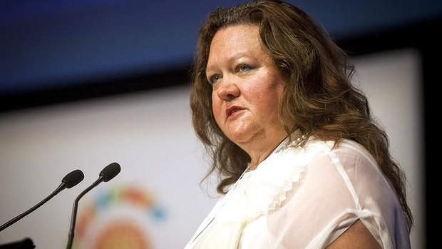นาง Gina Rinehart บุคคลที่รวยที่สุดในออสเตรเลีย