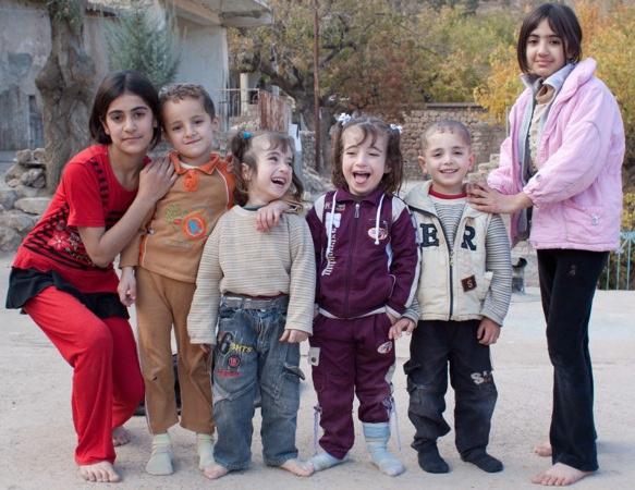 เด็ก ๆ ชาวยาซิดีชนกลุ่มน้อยในอิรัก, ซีเรียและตุรกี