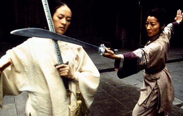 Zhang Ziyi กับ Michelle Yeoh ใน Crouching Tiger Hidden Dragon เวอร์ชั่น 2001