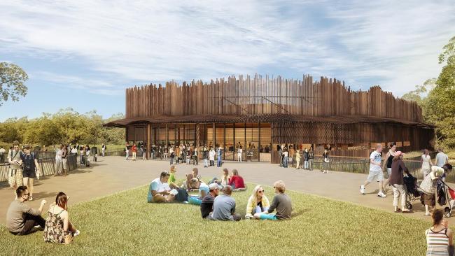 สวนสัตว์ที่ Bungarribee Super Park คาดว่าจะเปิดในปลายปี 2017