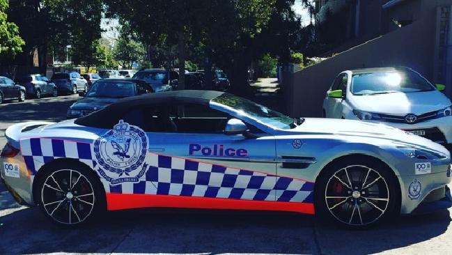 รถ Aston Martin Vanquish ของตำรวจรัฐน.ซ.ว