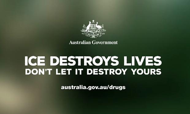 สปอทโฆษณาต่อต้านยาไอซ์ที่กำลังระบาดในออสเตรเลีย ของกระทรวงสาธารณสุข