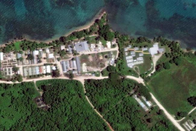 ศูนย์กักกันบนเกาะ Manus ประเทศปาปัวนิวกีนี : ภาพจากสำนักข่าว ABC