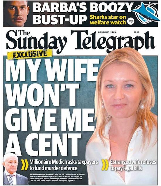 2016-06-11 ข่าวหน้าหนึ่ง - เมียไม่ให้เงิน
