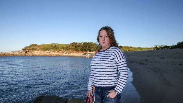 นาง Teresa Mullan ผู้ถูกปฏิเสธสัญชาติออสเตรเลีย : ภาพชั่วคราวจากนสพ. The SMH