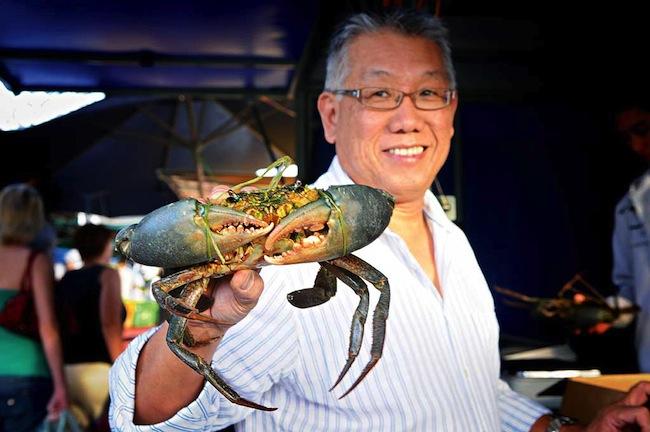 นาย Jimmy Shu : ภาพจาก australiantraveller.com
