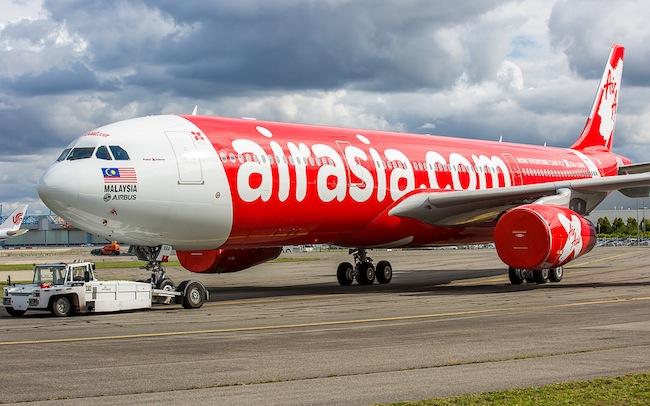 แอร์บัส A330 ของสายการบิน AirAsia X : ภาพชั่วคราวจาก Jujug Spotting