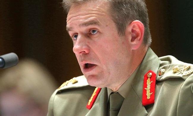 พลตรี Andrew Bottrell ผู้อำนวยการกองกำลังป้องกันชายแดน OSB : ภาพจากนสพ. the Guardian