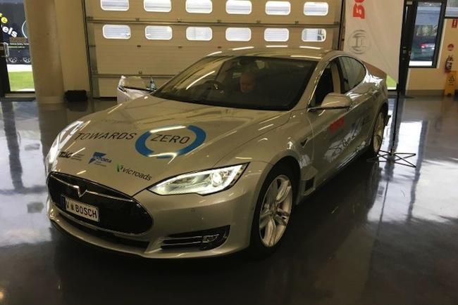 รถยนต์ไร้คนขับที่พัฒนาขึ้นในโรงงานรัฐวิกตอเรีย : ภาพจากสำนักข่าว ABC