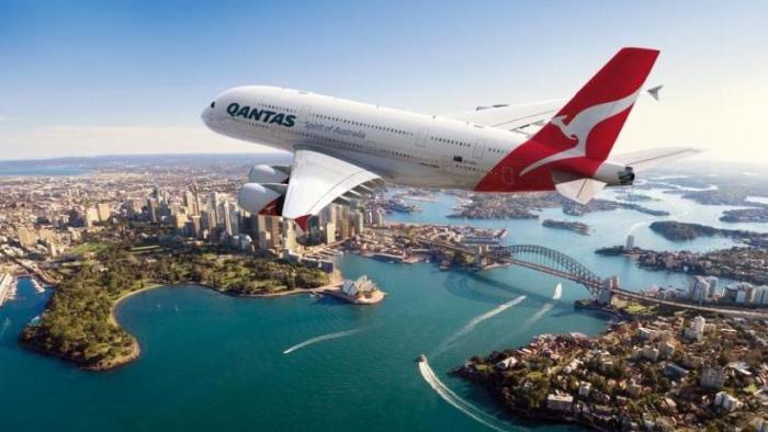 สายการบิน Qantas : ภาพประชาสัมพันธ์จาก Qantas