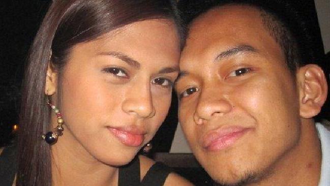 นาง Geecy Rebucas และนาย Roy Tabalbag เมื่อครั้งความรักยังหวานชื่น : ภาพจากสำนักข่าว AAP ต้นฉบับเฟสบุ๊ค