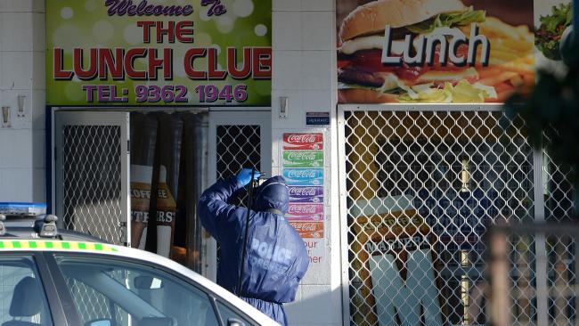 ร้าน Lunch Club Deli ร้านอาหารประเภท Lunch Bar ปิดบริการลูกค้าหลังเกิดเหตุ : ภาพจากนสพ. Perth Now