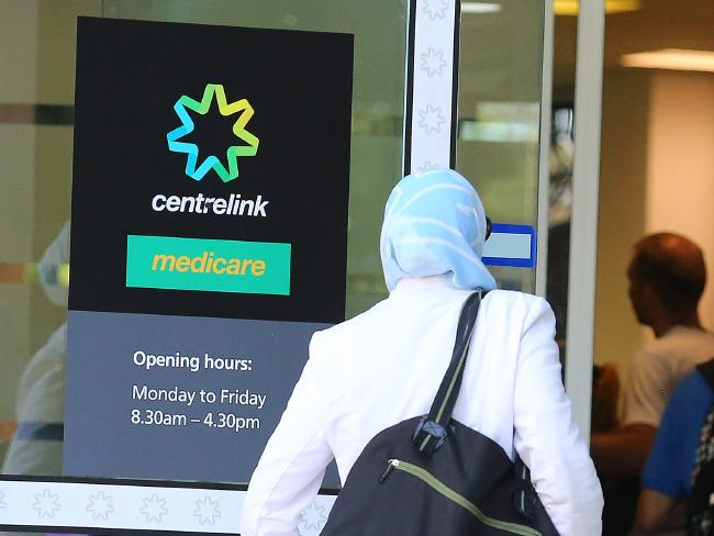 Centrelink ในเขต Bankstown : ภาพชั่วคราวจากนสพ. The Telegraph