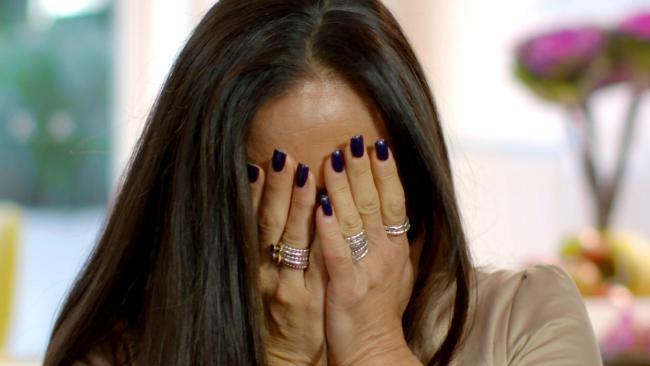 นาง Jackie Reimer ภรรยาพลตำรวจ Peter Forsyth ขณะให้สัมภาษณ์รายการ Murder Uncovered : ภาพจากทีวี Seven