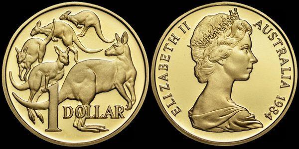 เงิน 1 ดอลล่าร์ออสเตรเลียตอนนี้เท่ากับ 77 เซนต์สหรัฐ : ภาพจาก World of Coins